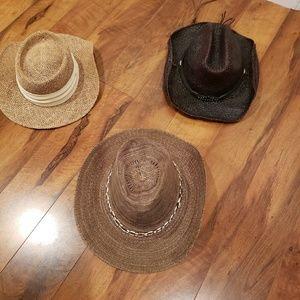 Bundle of three hats!